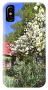 Snowball Tree In The Garden IPhone Case