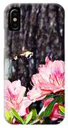 Snowberry Clearwing II- Sphinx Moth IPhone Case