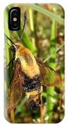 Snowberry Clearwing IPhone Case