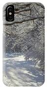Snowfall Enchantment IPhone Case