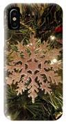 Snowflake Ornament IPhone Case