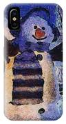 Snowman Photo Art 44 IPhone Case