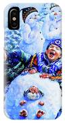 Snowmen IPhone Case
