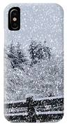 Snowstorm Coming IPhone Case