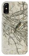 Snowy Bird IPhone Case