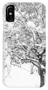 Snowy Crab Apple IPhone Case