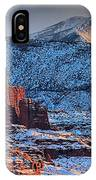 Snowy Fisher Towers IPhone Case