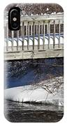 Snowy Foot Bridge IPhone Case