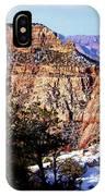 Snowy Grand Canyon Vista IPhone X Case