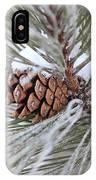 Snowy Pine IPhone Case