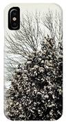 Snowy Pines IPhone Case