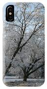 Snowcovered Trees IPhone Case