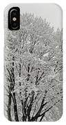 Snowy Trees IPhone Case