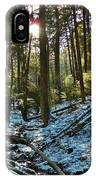 Snowy Valley IPhone Case
