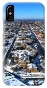 Snowy West Side Winter 2013 IPhone Case
