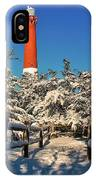 Snowy Woods At Barnegat Light IPhone Case