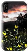 Socorro Sunset IPhone Case