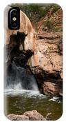 Soda Dam In New Mexico IPhone Case