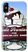 Soda Fountain IPhone Case