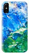 Sodium Thiosulphate Microcrystals Colorful Art IPhone Case