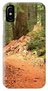 Soft Light Along The Cheakamus Lake Trail IPhone Case