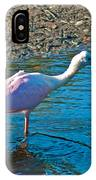 Soft Pink Spoonbill IPhone Case