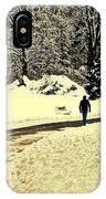 Softly As I Leave You IPhone Case