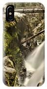 Sol Duc Falls IPhone Case