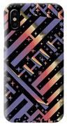 Solar Sagittarius Maze IPhone Case