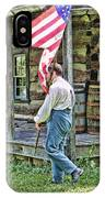Soldier At Bedford Village Pa IPhone Case