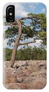 Solitary Tree Amidst Field Of Boulders IPhone Case