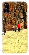 Solitude With A Friend IPhone Case