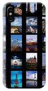 Some East Coast Lighthouses IPhone Case