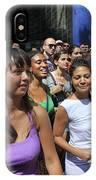 Some Young Ladies Enjoying The 2009 Cleansing Of 46th Street IPhone Case