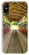 Somerset Wooden Roads IPhone Case