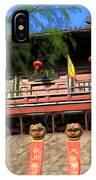 Song Dynasty Town In Dali 2 IPhone Case