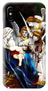 Song Of The Angels By Bouguereau IPhone Case