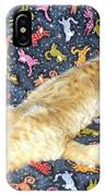 Sonny Cat On Sacred Cat Quilt IPhone Case