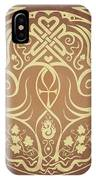 Soul Mates - Gold IPhone Case