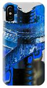 Sounder In Blue IPhone Case