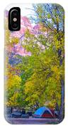 South Campground In Zion Np-ut IPhone Case