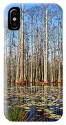 South Carolina Swamps IPhone Case