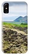 South Iceland Landscape Pingvellir IPhone Case