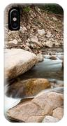 South St Vrain Canyon Autumn View IPhone Case