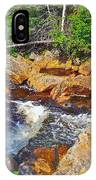 Southeast Brook Above Falls In Gros Morne Np-nl IPhone Case