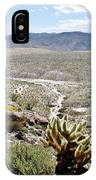 Southern California Desert Landscape IPhone Case