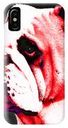 Southern Dawg By Sharon Cummings IPhone Case