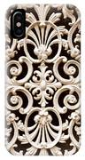 Southern Ironwork In Sepia IPhone Case