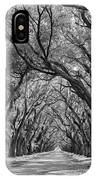 Southern Journey Bw IPhone Case