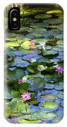 Southern Lily Pond IPhone Case